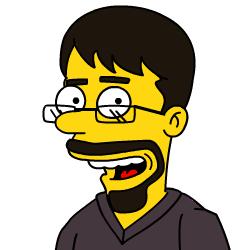 Hawkman à la Simpsons